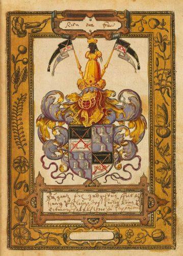 Stammbuch_Pappenheim_Wappen