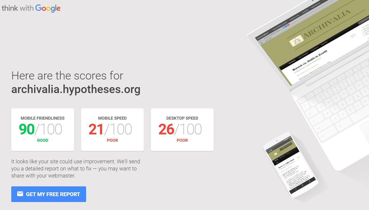 """Test my site"""": Google launcht neuen Service zum Testen"""