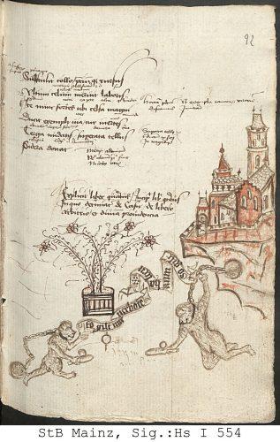 Mainz Hs I 554 fol 92